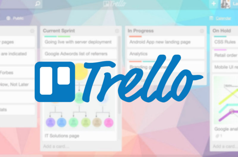 Software Trello para trabajo Home Based