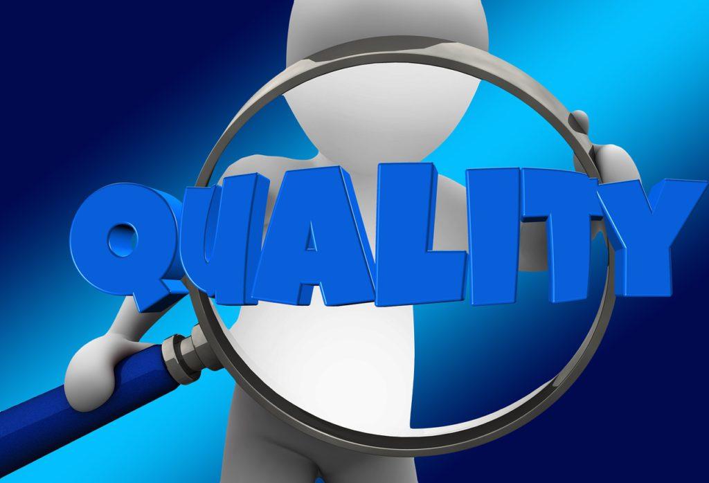 Criterios para medir la calidad de productos y servicios